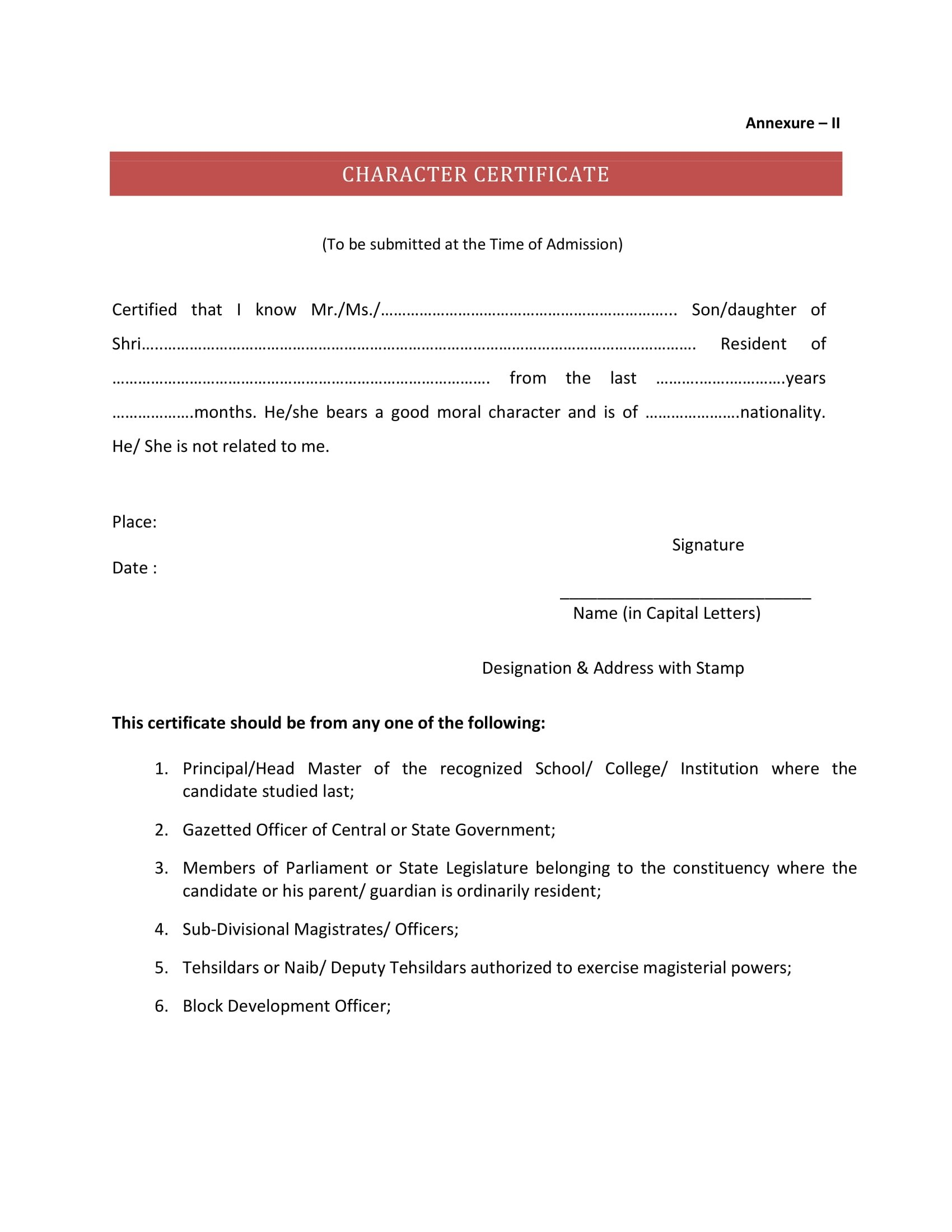 Gap Certificate format In Hindi Pdf Best Of What is the format Of