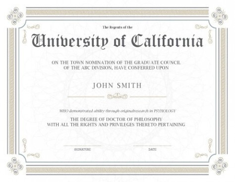 photo relating to Printable Diploma Template identified as Commencement Certificates Template Luxurious Award Certification