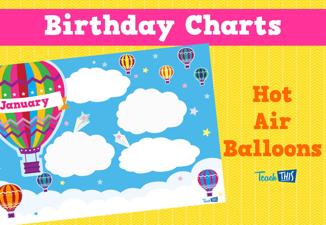 Birthday Charts For Classroom Great Kindergarten Best Images Of 60