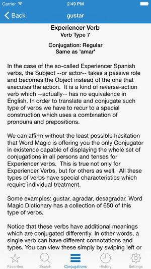 Spanish Verb Charts Beautiful English Spanish Verbs On the App Store