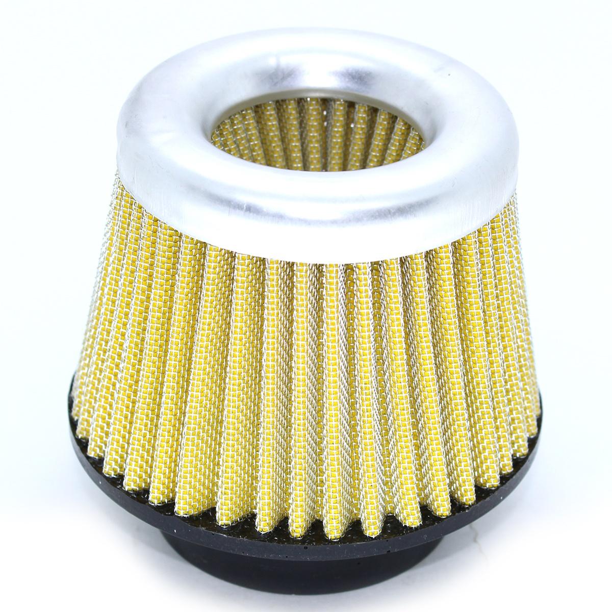 Filtro de Ar Duplo Fluxo Médio Boca de Borracha 62mm + Respiro óleo