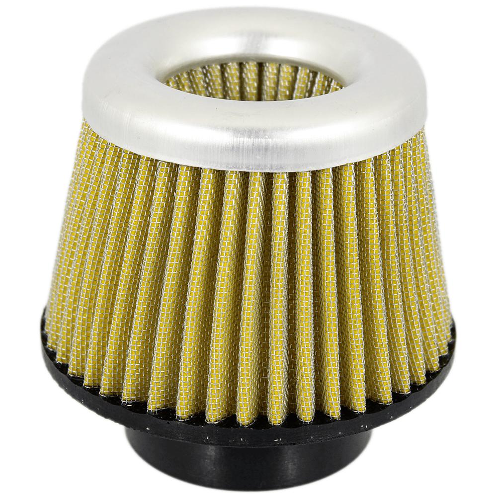Filtro de Ar Duplo Fluxo Médio Boca de Borracha 85mm + Respiro óleo