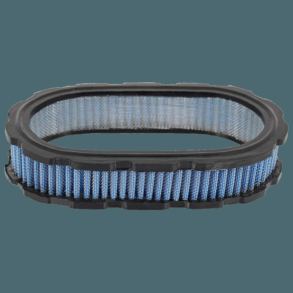 Elemento do Filtro de Ar Marmita Oval Lavável Royale Azul