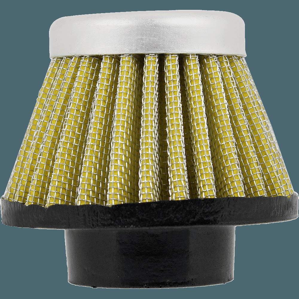 Filtro de Ar Cônico Royale para Motos Amarelo