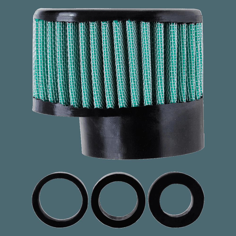 Filtro de Ar Reto Alto Boca 54+Adaptadores 33-38-43mm Verde