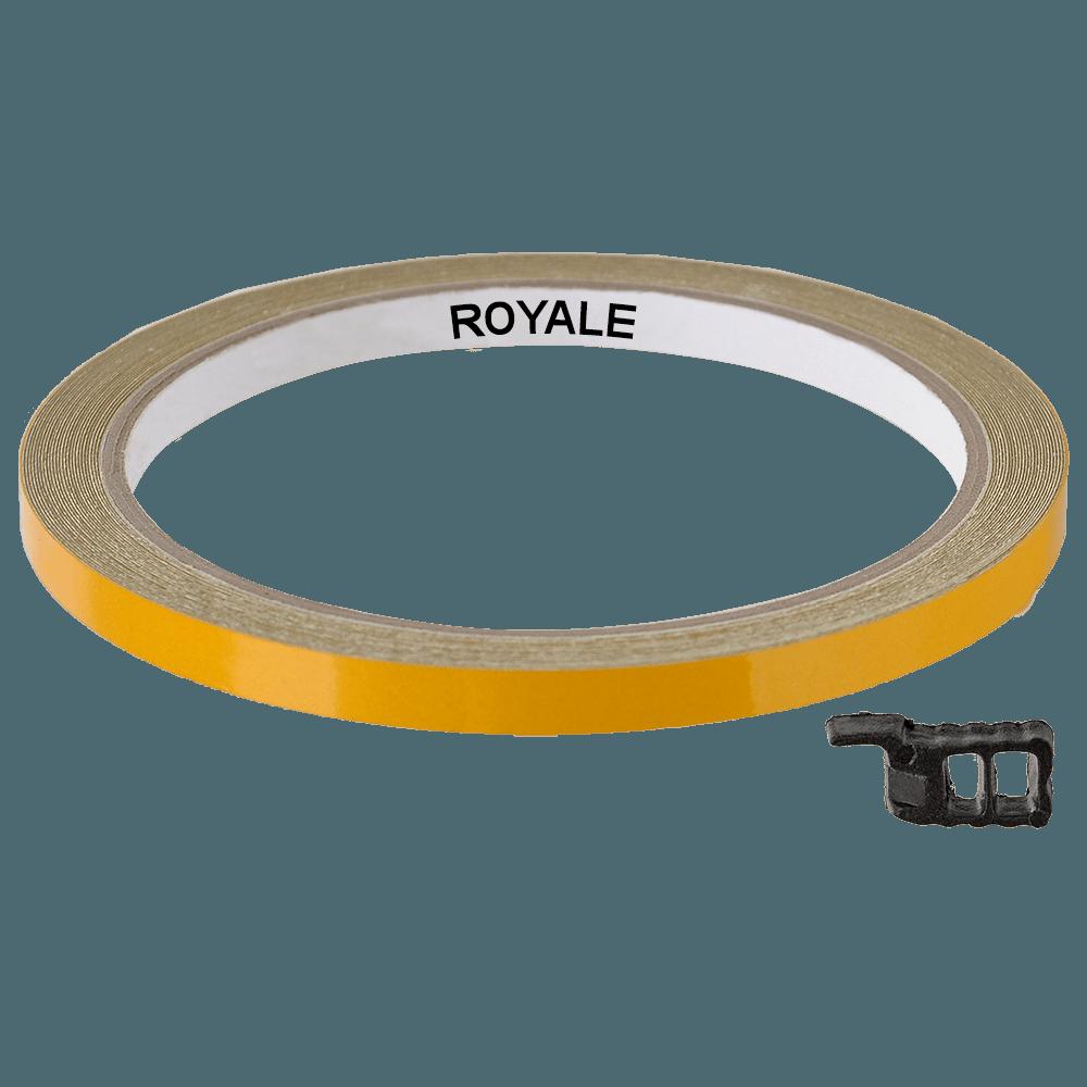 Fita Refletiva Aro de Rodas Royale 7mts Amarelo
