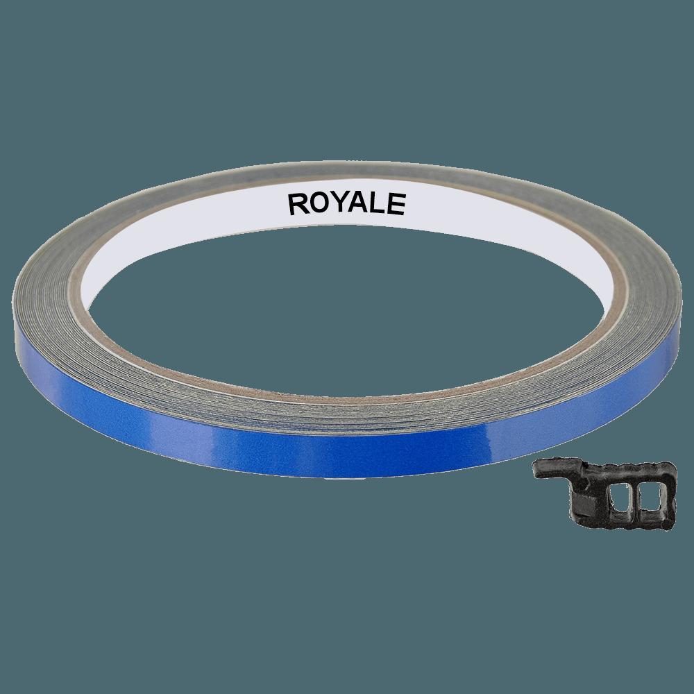 Fita Refletiva Aro de Rodas Royale 7mts Azul