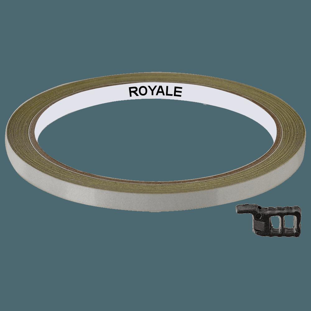 Fita Refletiva Aro de Rodas Royale 7mts Branco
