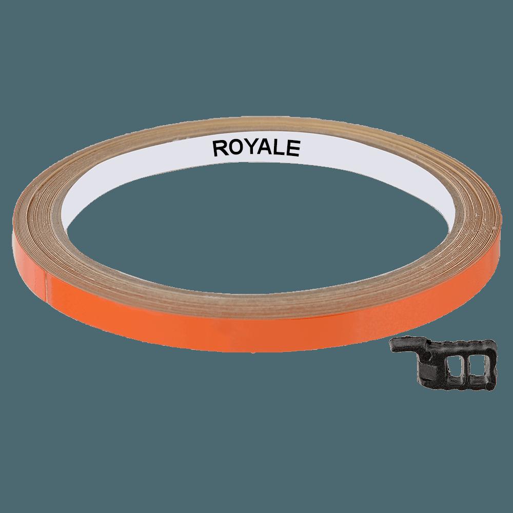 Fita Refletiva Aro de Rodas Royale 7mts Laranja