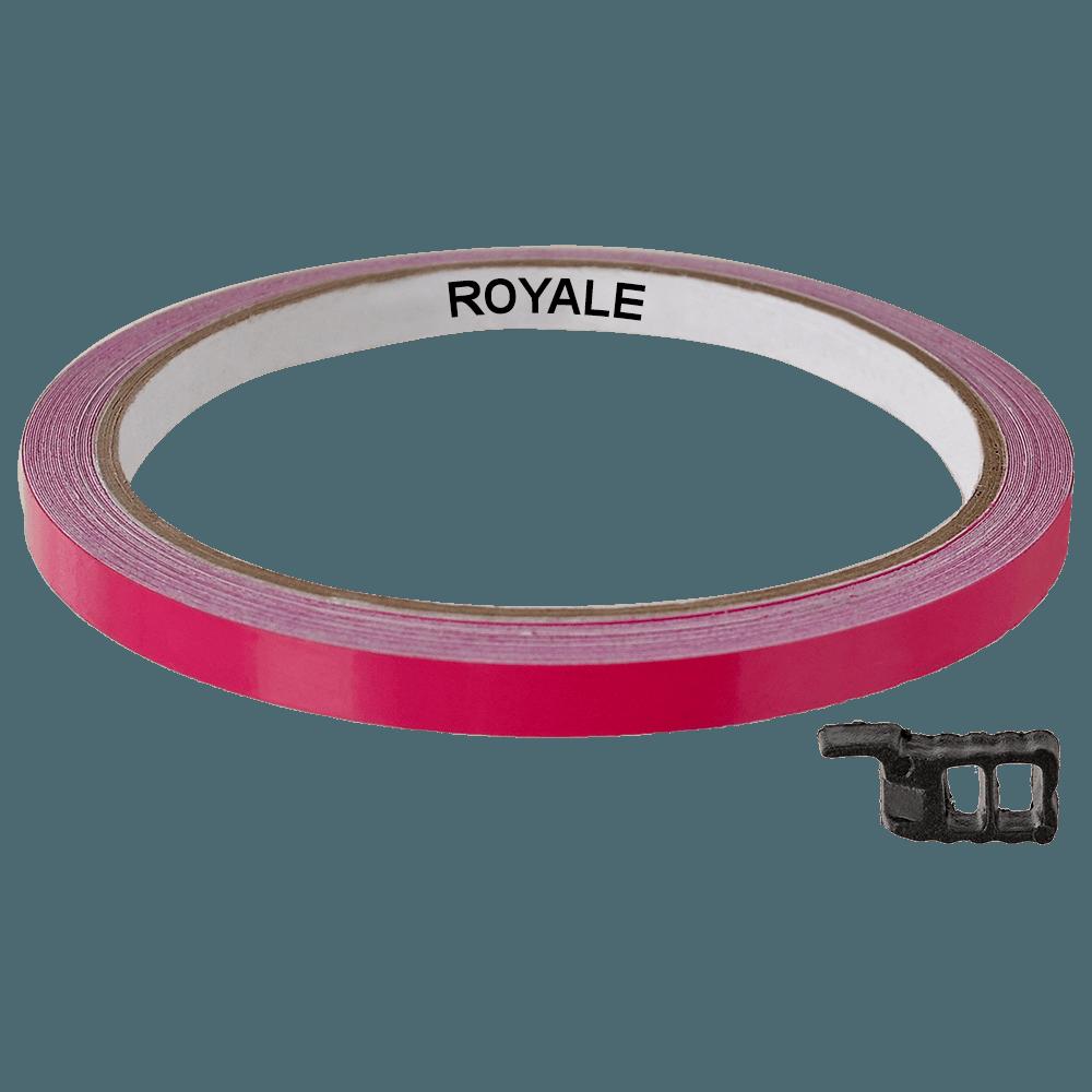 Fita Refletiva Aro de Rodas Royale 7mts Roxo