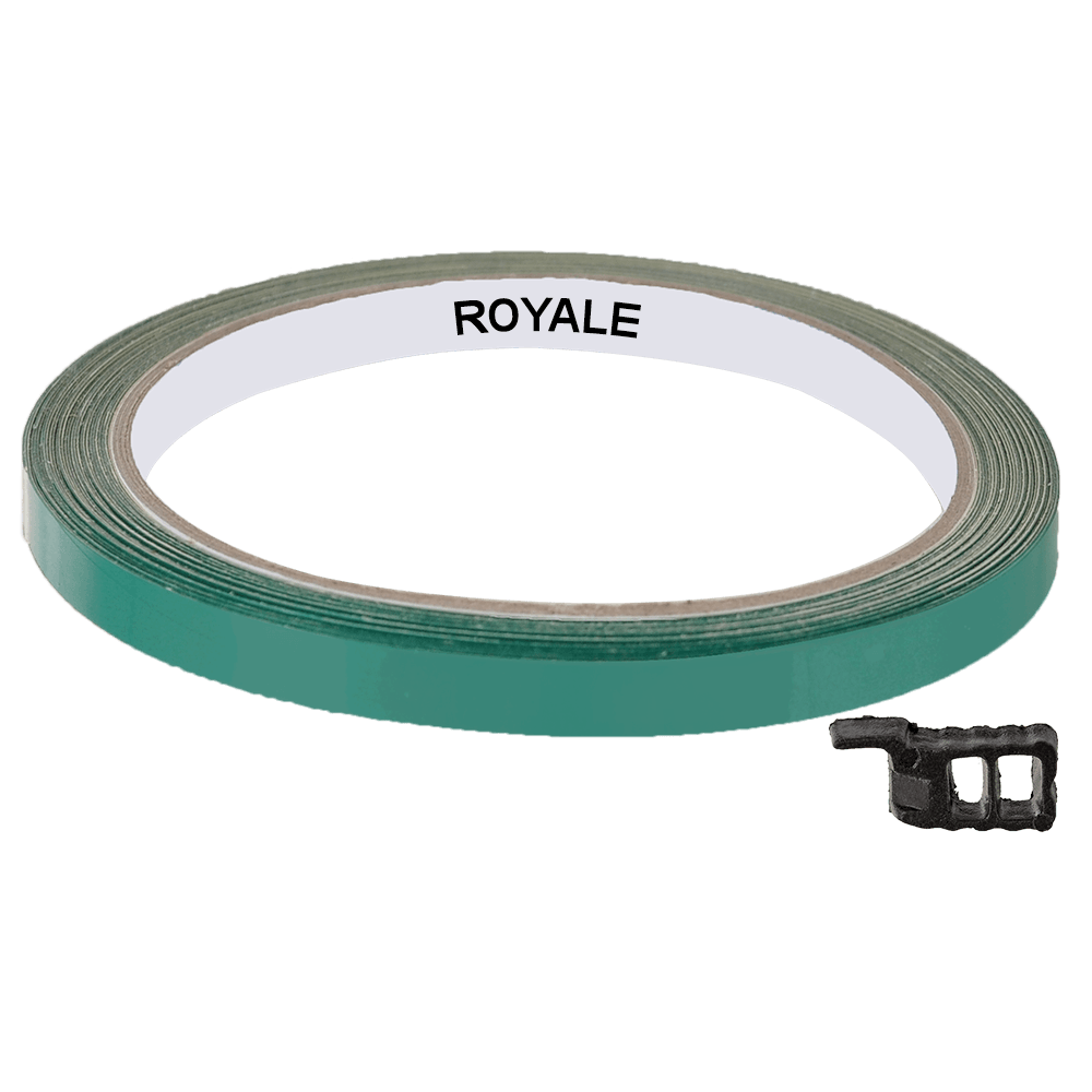 Fita Refletiva Aro de Rodas Royale 7mts Verde