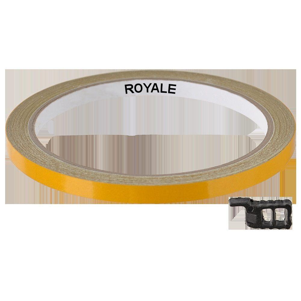 Fita Refletiva Aro de Rodas Royale 7mts Dourado