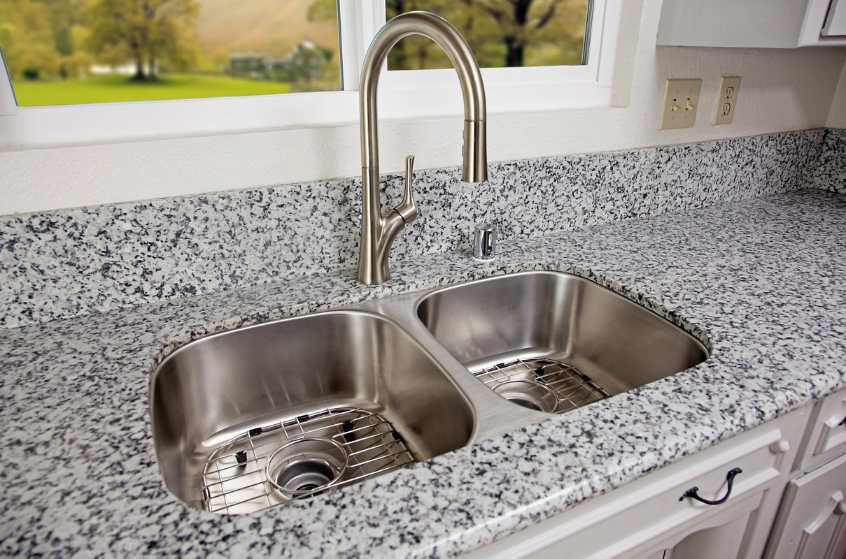 100 kitchen faucet stainless steel brushed nickel kitchen in sizing 1209 x 800