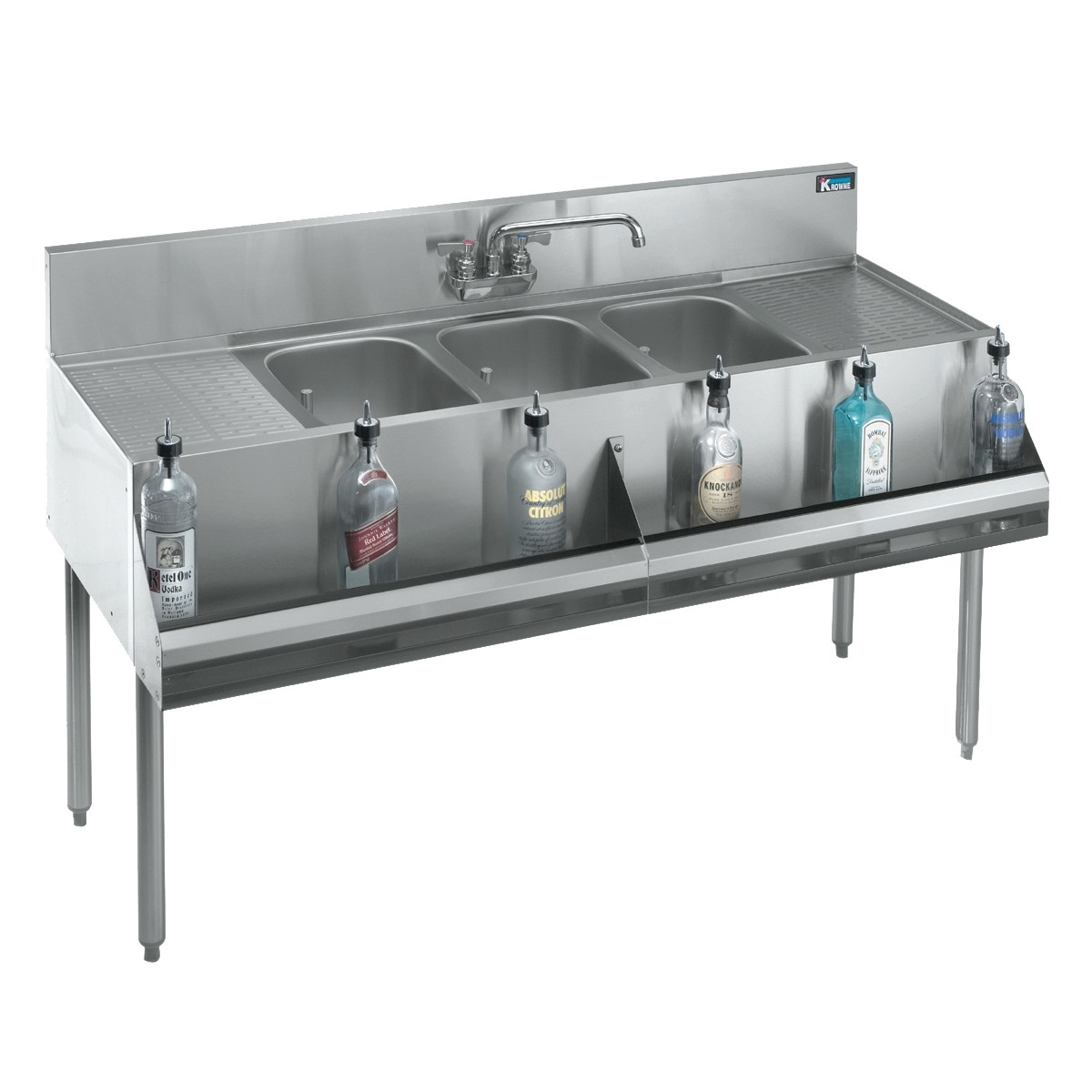 Ideas, 3 compartment sink faucet 3 compartment sink faucet krowne underbar sinks refrigeration faucets and pre rinses 1200 x 1200  .