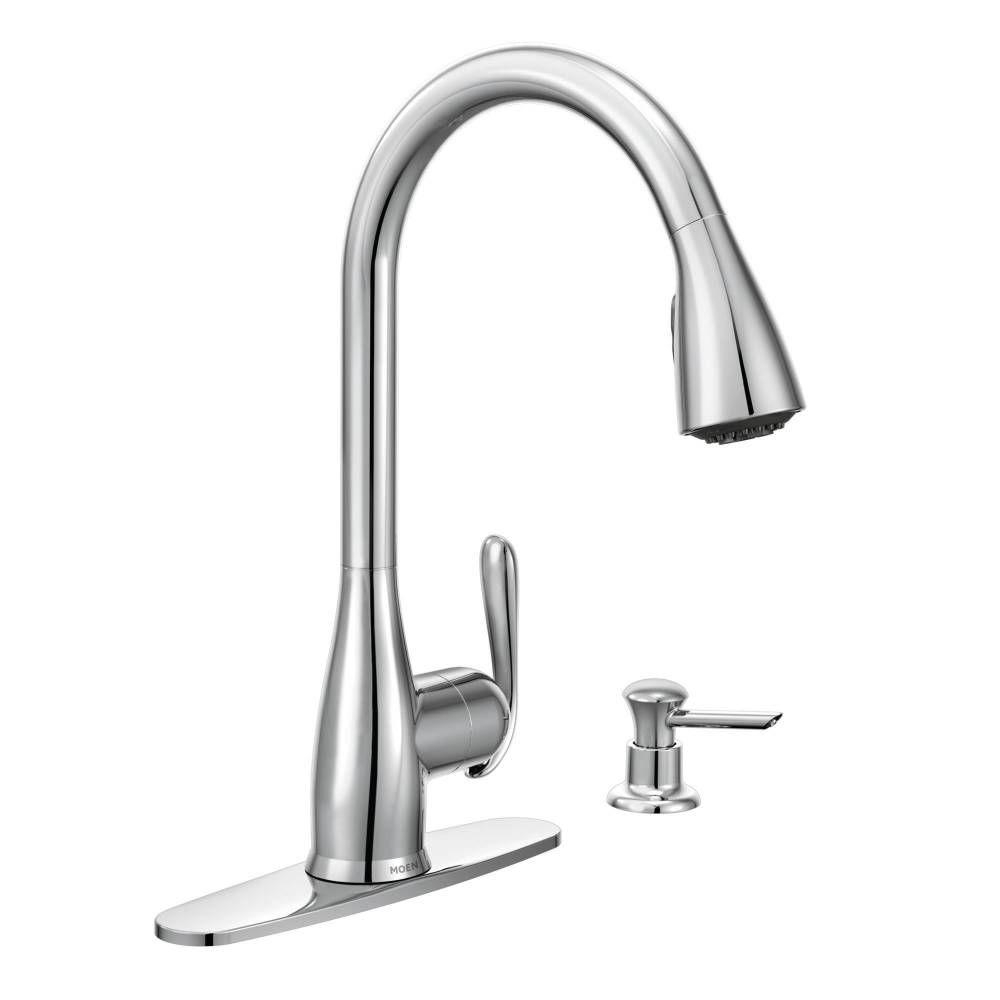 4 hole kitchen faucet moen 4 hole kitchen faucet moen moen haysfield single handle pull down sprayer kitchen faucet with 1000 x 1000