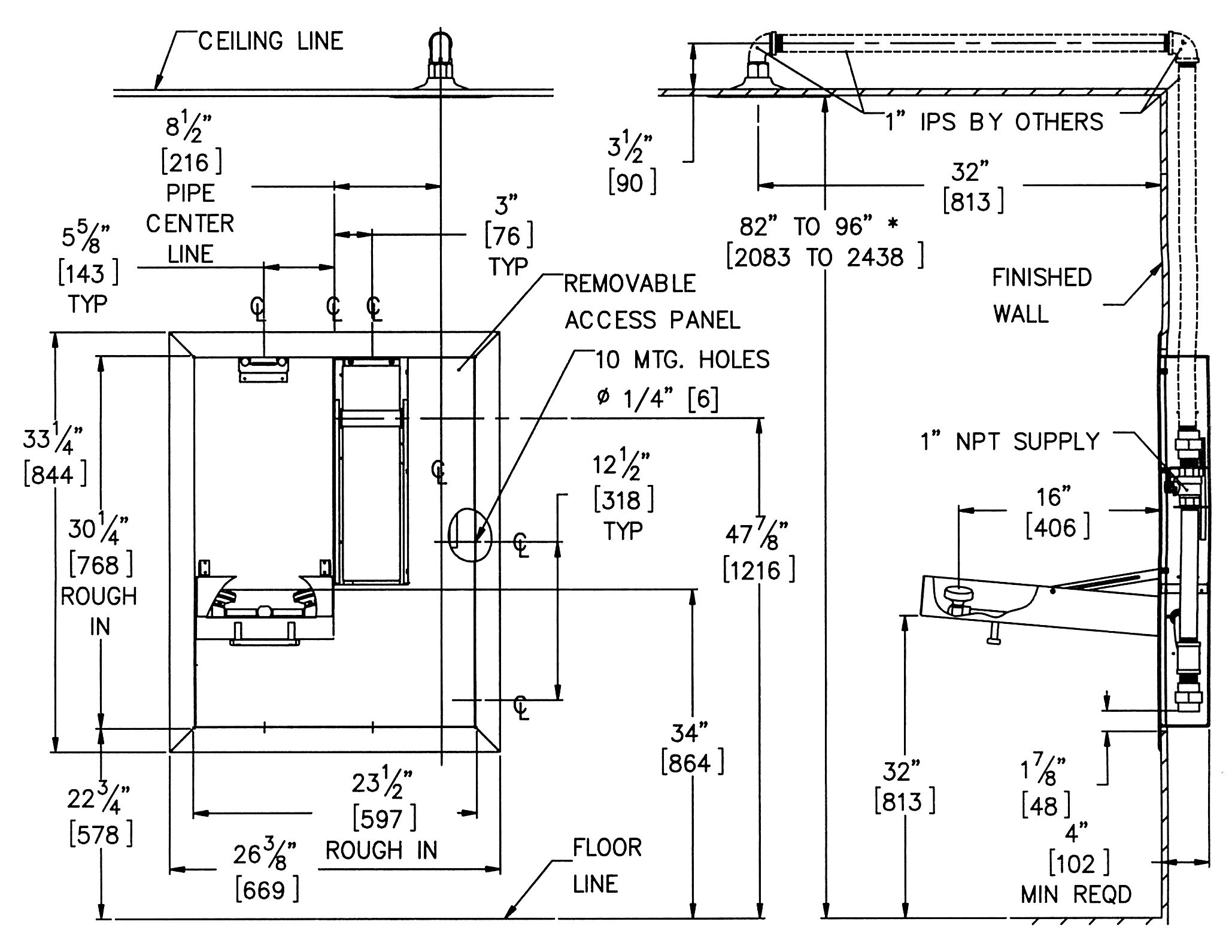 Ideas, 49 ada shower valve height requirements valve the floor surface with regard to sizing 2058 x 1590  .