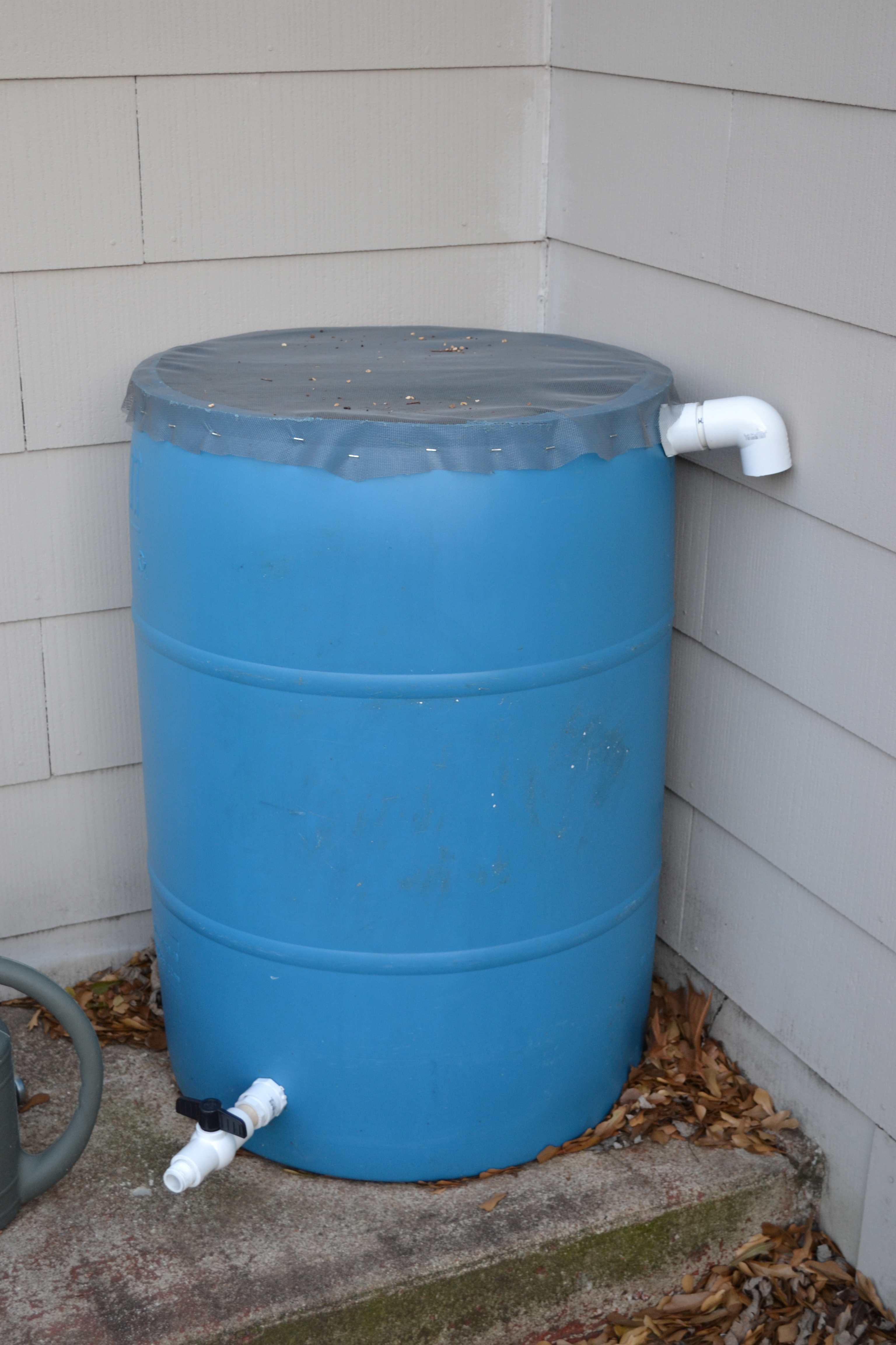 Ideas, 55 gallon water barrel faucet 55 gallon water barrel faucet take a stand with a rain barrel growing wilder 3072 x 4608  .