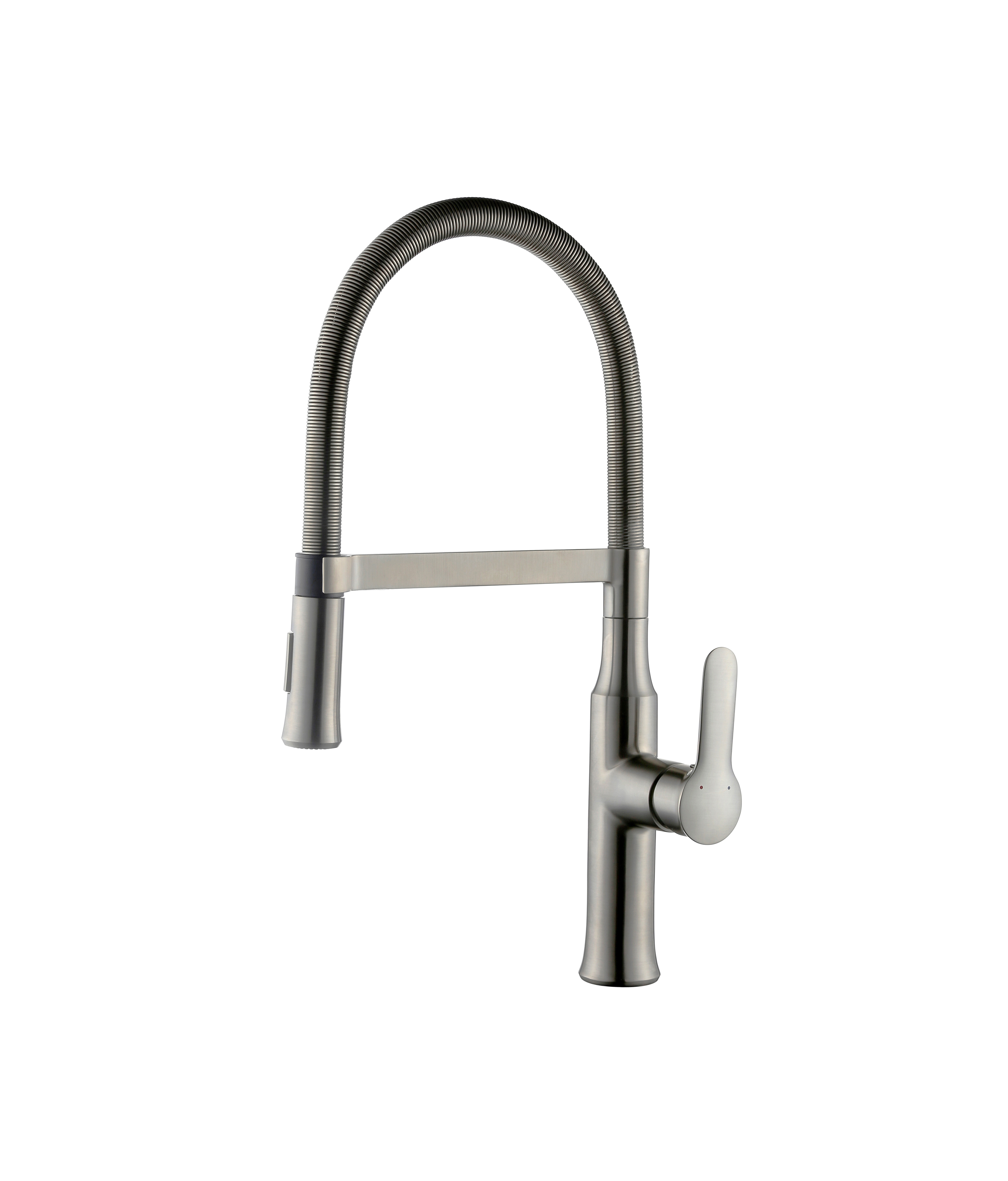 Ideas, a 730 bn magnetic single handle brushed nickel kitchen faucet regarding proportions 4608 x 5400  .