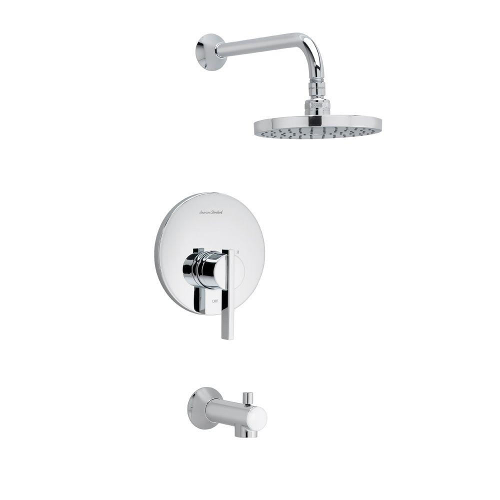 american standard hampton 1 handle tub and shower faucet trim kit intended for size 1000 x 1000