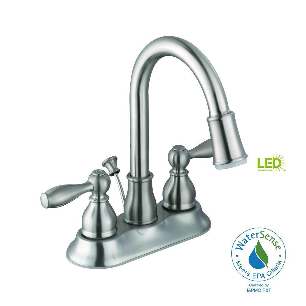 bath faucet with led light bath faucet with led light glacier bay mandouri 4 in centerset 2 handle led high arc 1000 x 1000