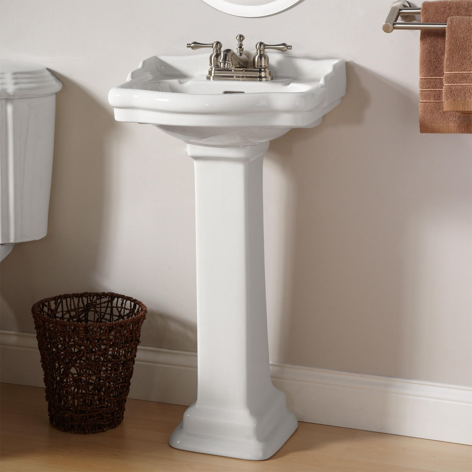 Ideas, bathroom bathroom sink pedestal faucet for pedestal sink within size 1500 x 1500  .