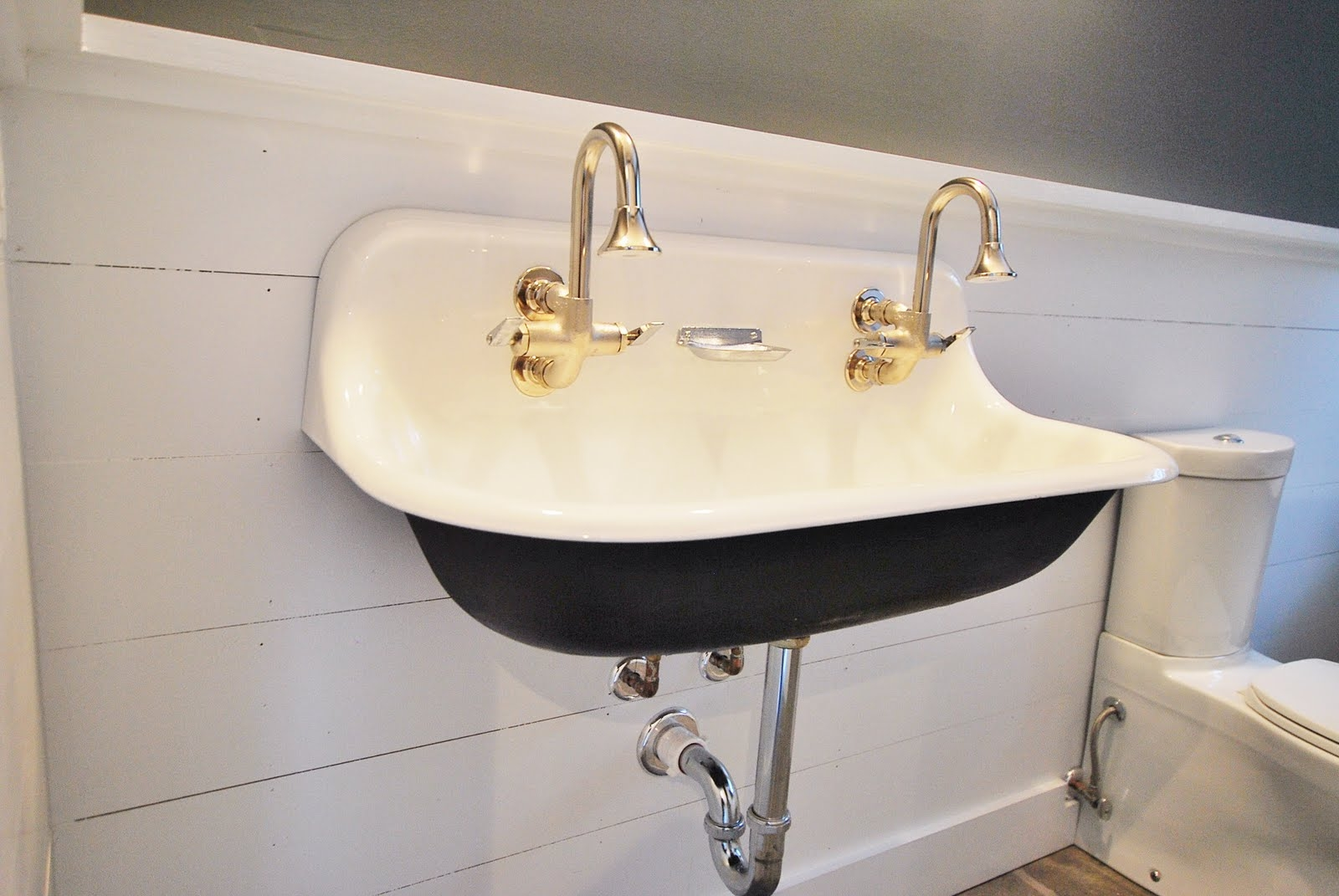 Ideas, bathroom charming double trough sink for best bathroom sink for size 1600 x 1071  .
