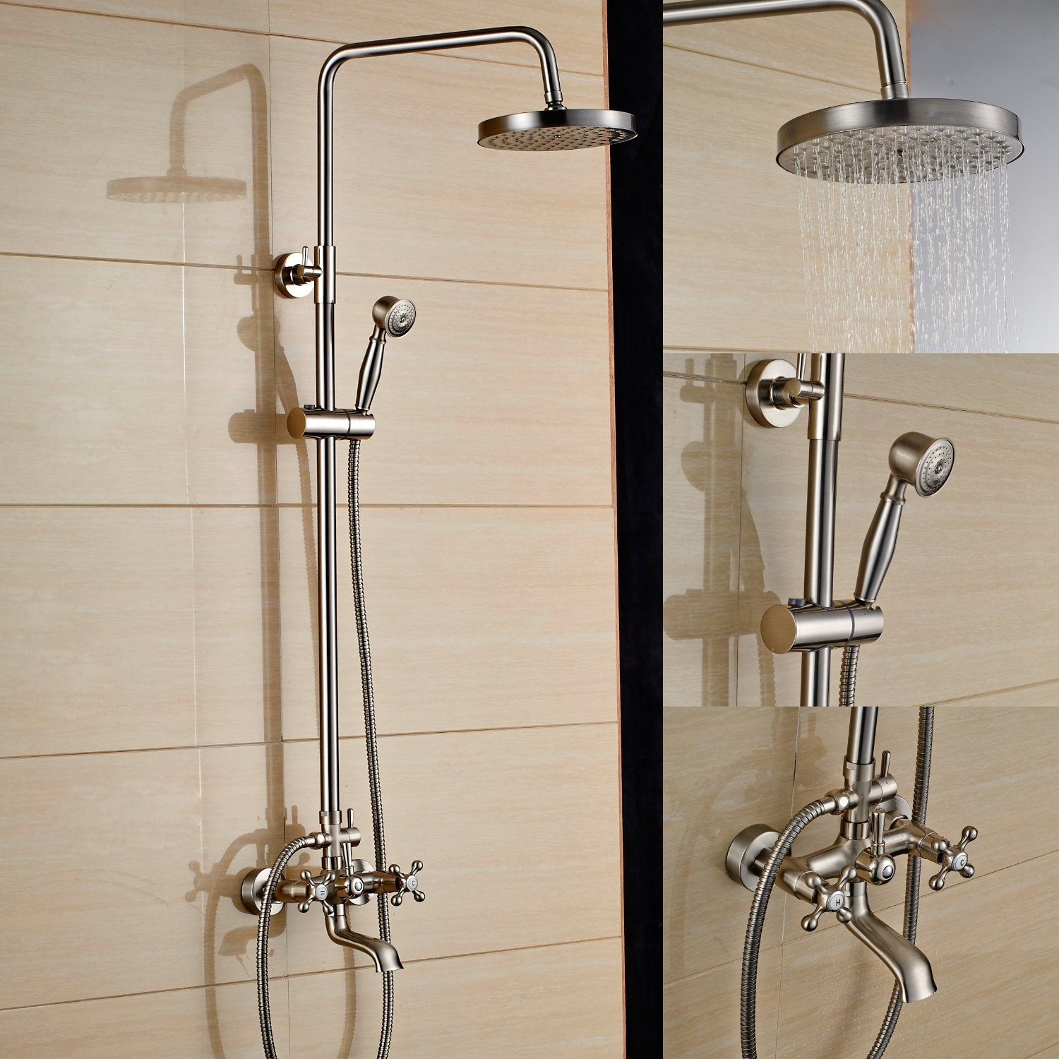 Ideas, bathroom delta handheld shower delta in2ition combo shower head intended for measurements 1500 x 1500  .