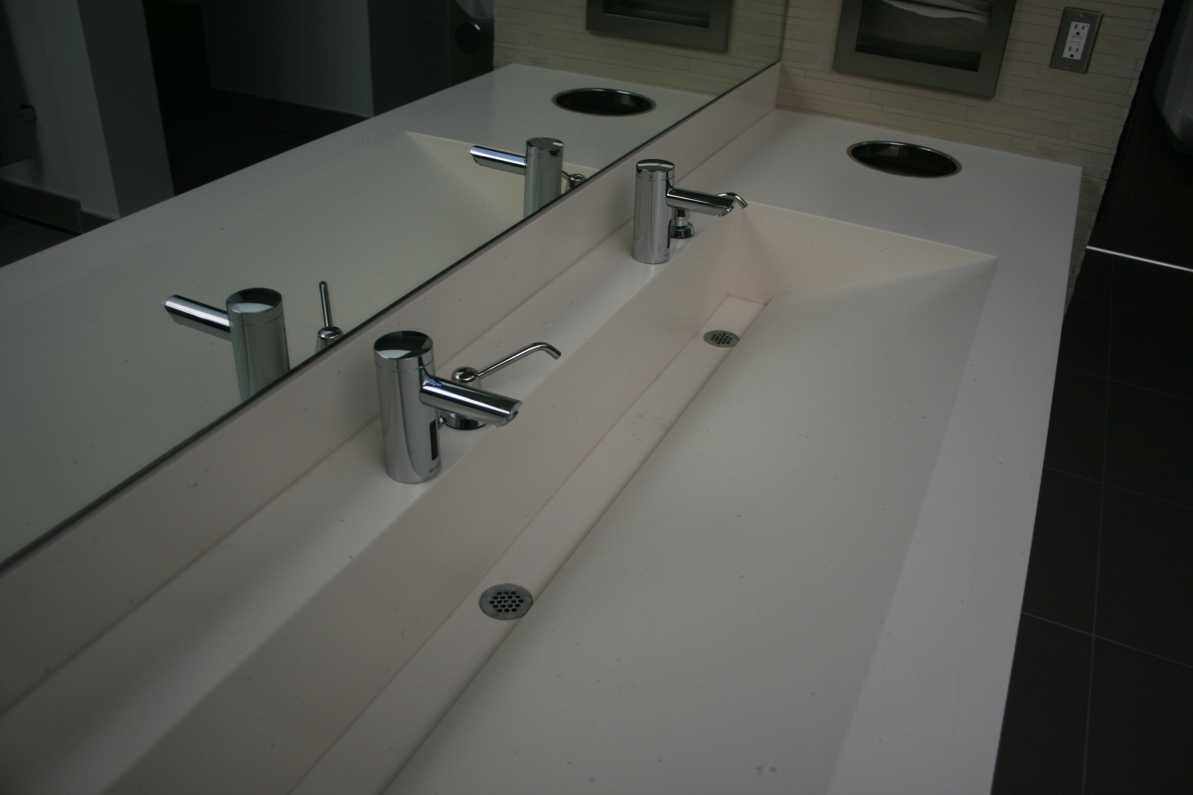 Ideas, bathroom fabulous trough sink for bathroom and kitchen throughout sizing 3888 x 2592  .