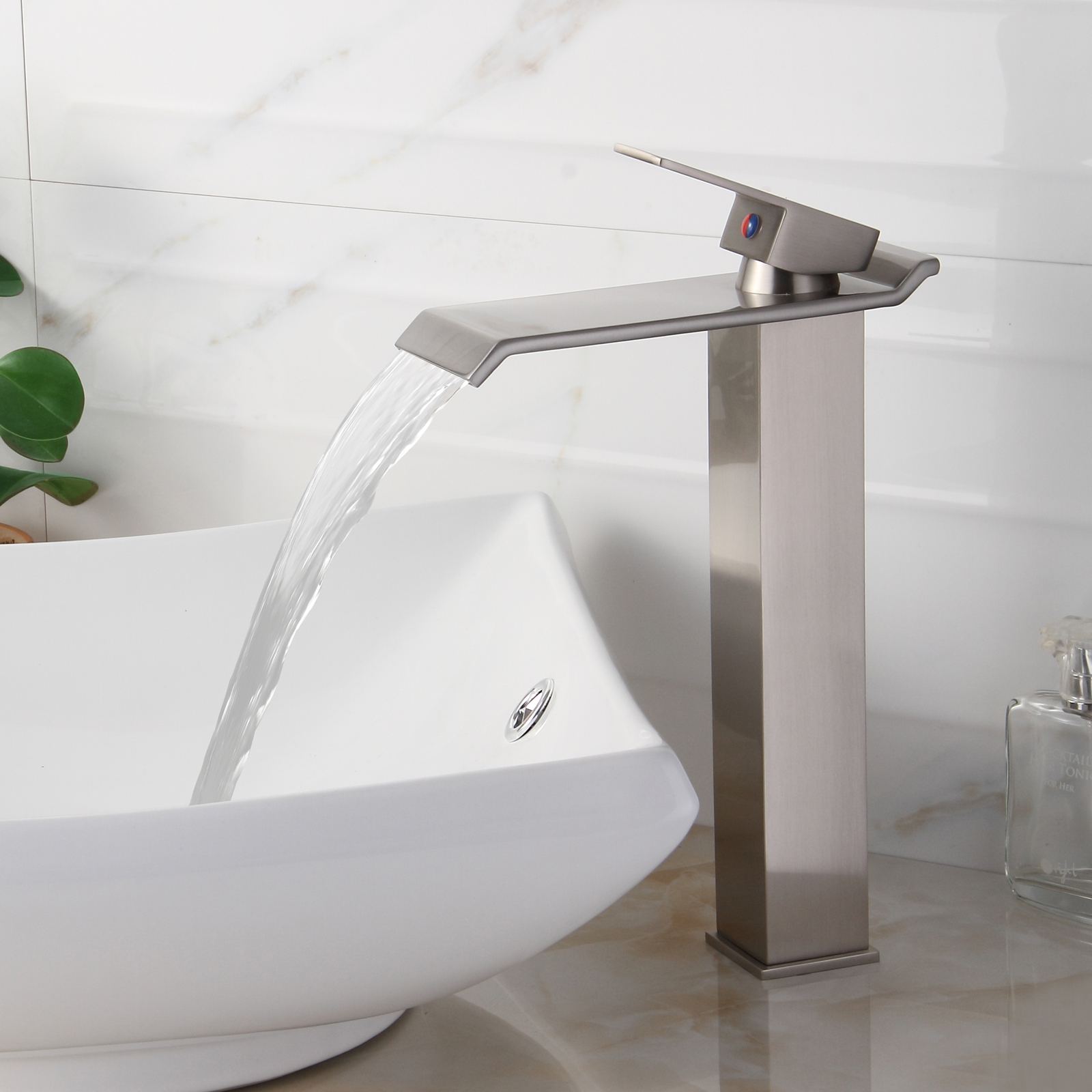 Ideas, bathroom fabulous waterfall faucet for bathroom intended for dimensions 1600 x 1600  .