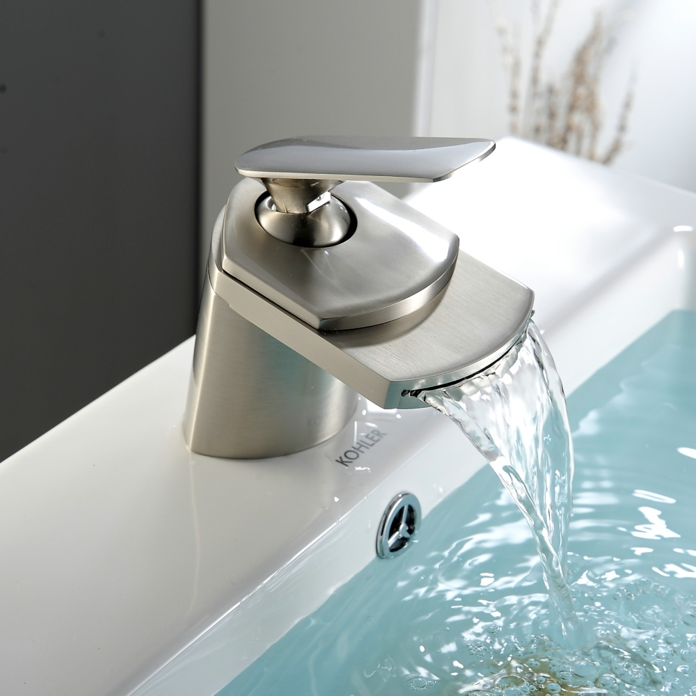 bathroom fabulous waterfall faucet for bathroom regarding size 1000 x 1000