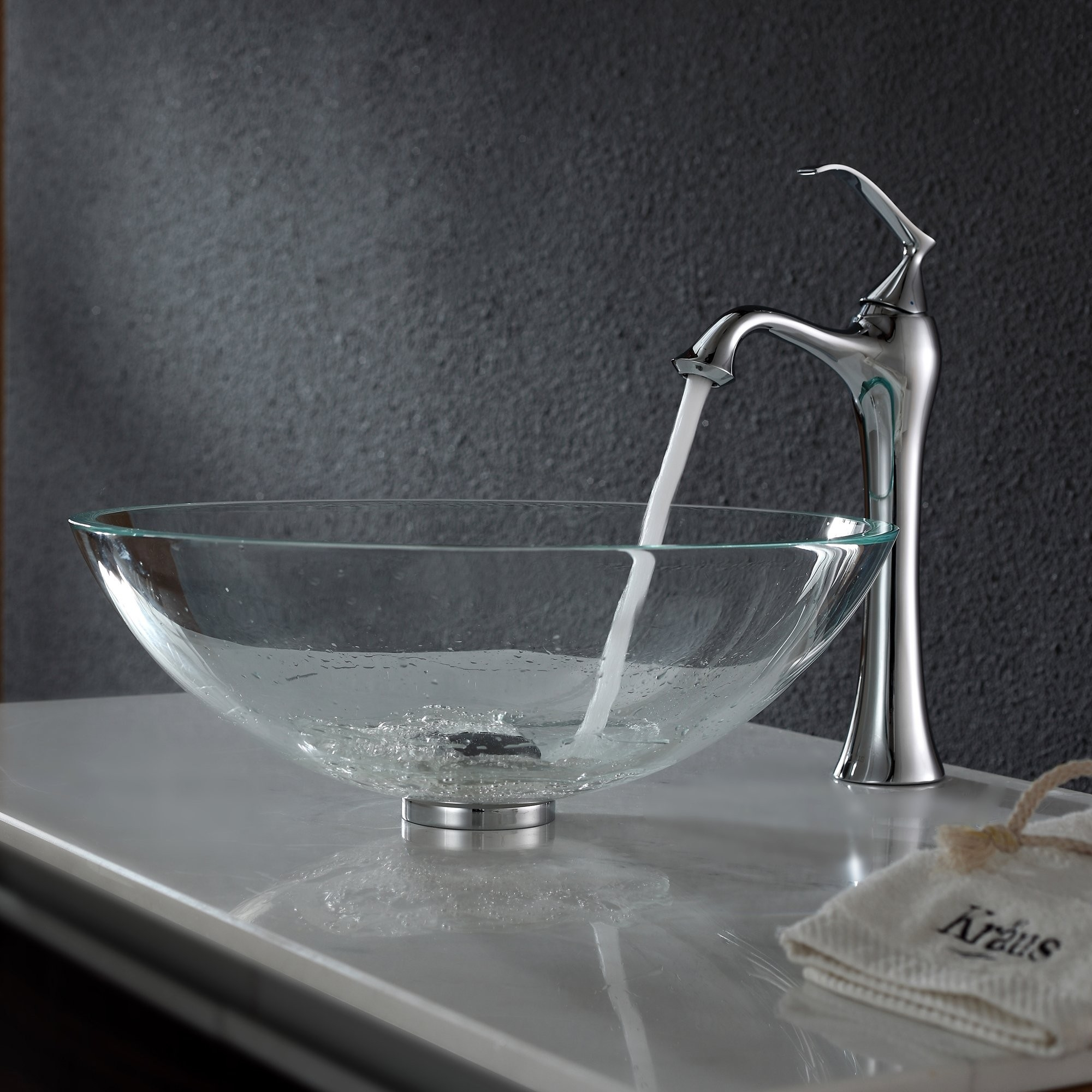 Ideas, bathroom glass vessel sink and faucet combination kraususa pertaining to dimensions 2000 x 2000  .