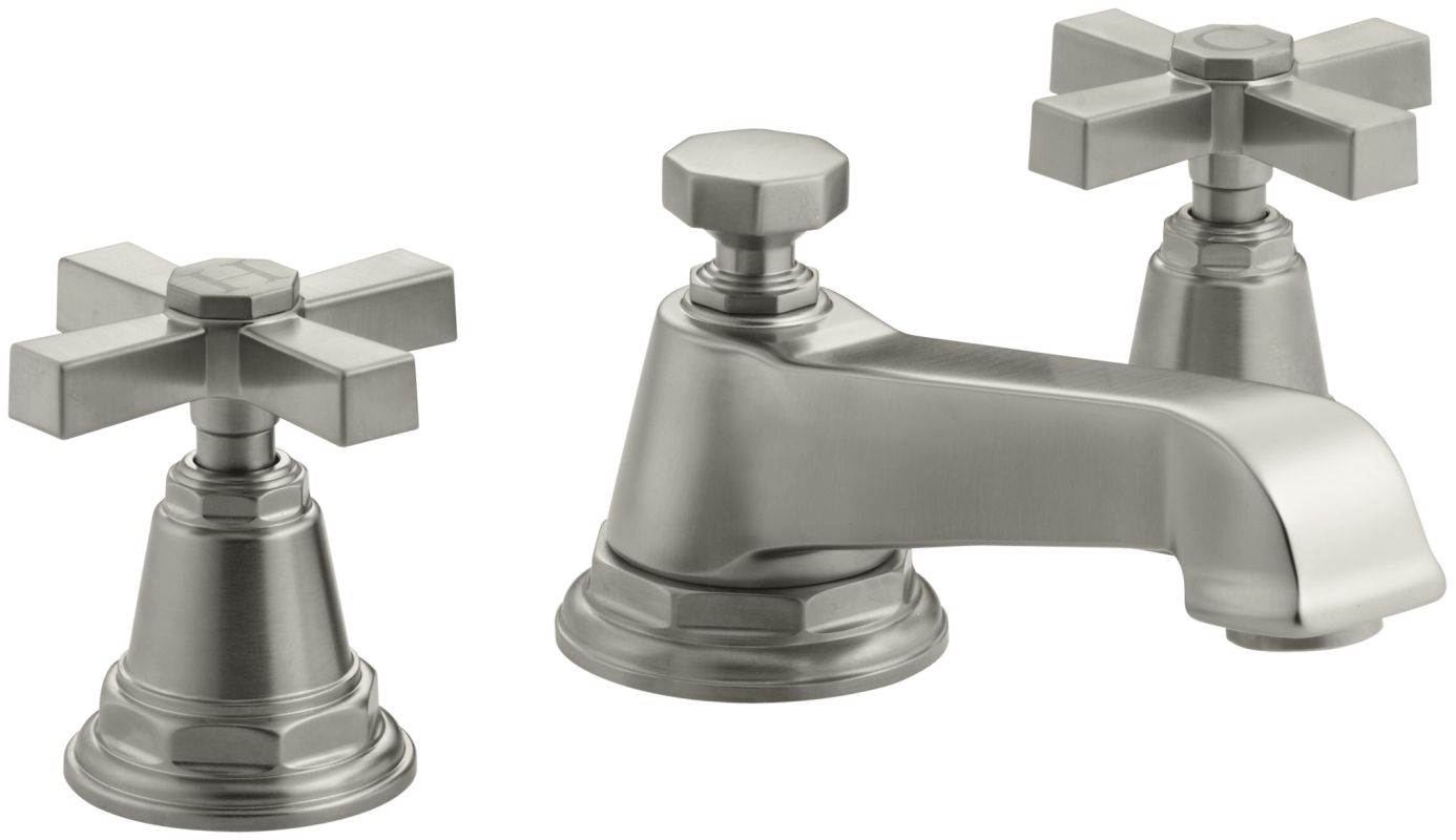 Ideas, bathroom interesting brushed nickel bathroom faucets for your throughout size 1386 x 800  .