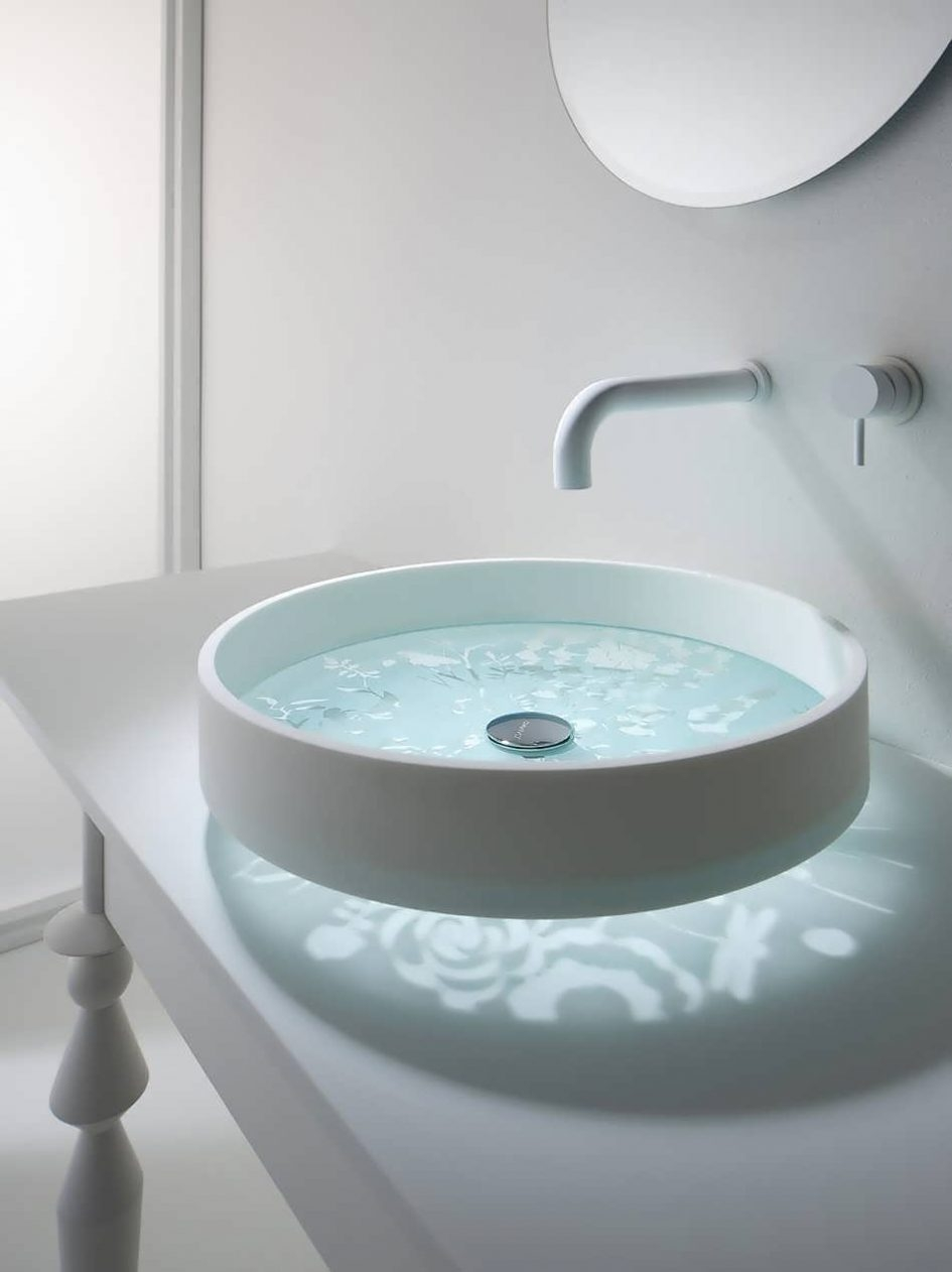 Undermount Bathroom Sink With Faucet Holes