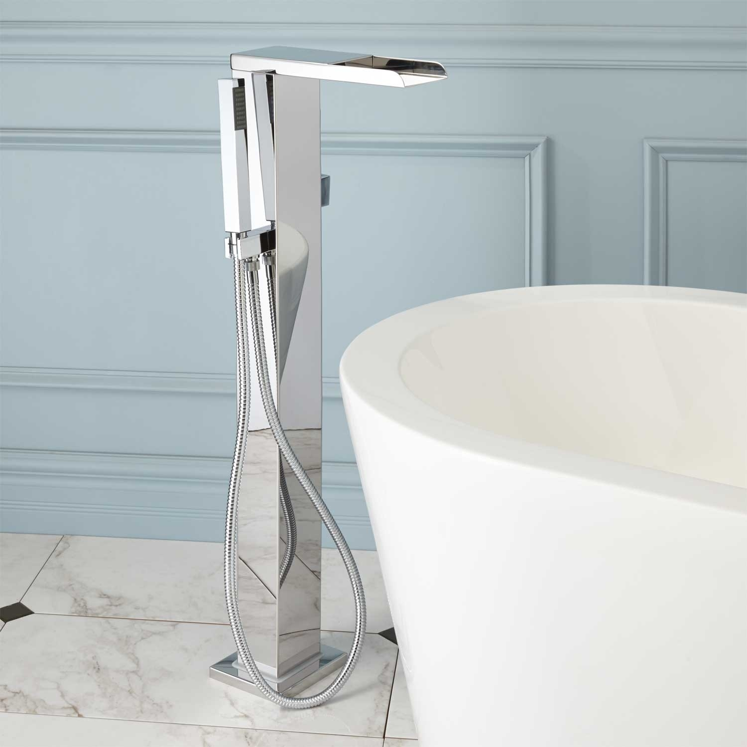 Ideas, bathroom superb freestanding tub faucet polished nickel 77 intended for sizing 1500 x 1500  .