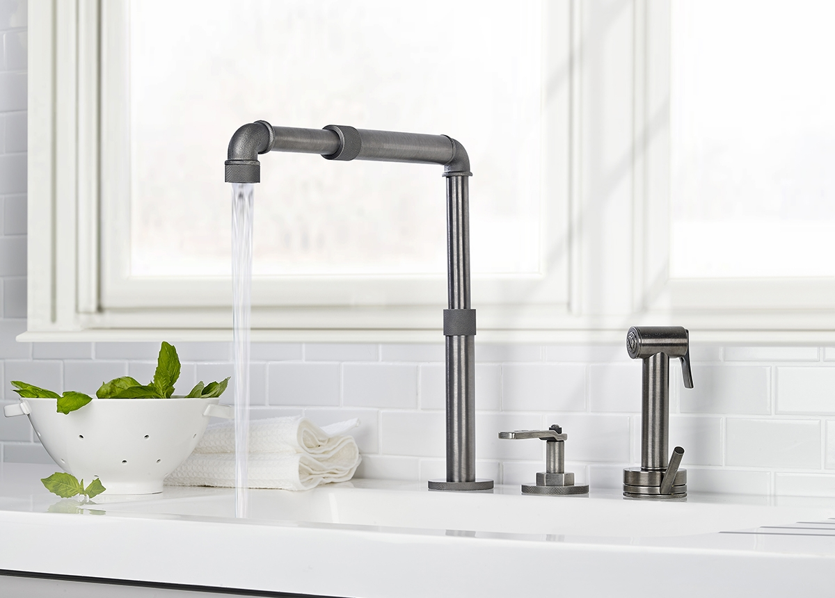 Ideas, best industrial style kitchen faucet best industrial style kitchen faucet home design ideas best industrial style kitchen faucet industrial 1200 x 860  .