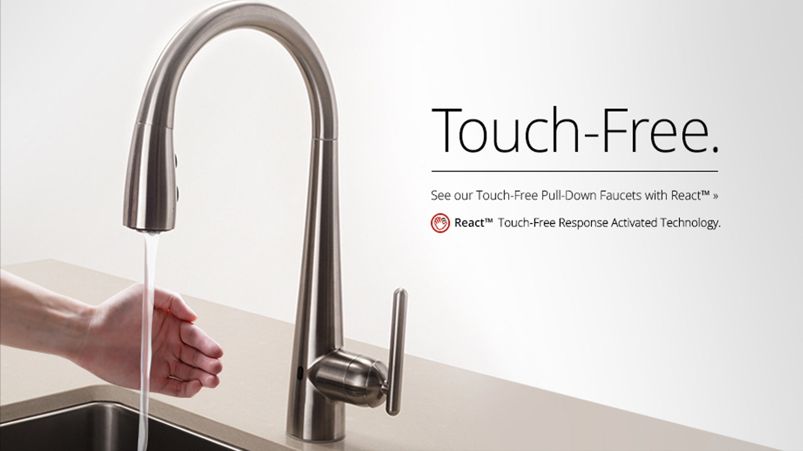 Ideas, best touch activated kitchen faucet best touch activated kitchen faucet 28 touch free kitchen faucets stainless steel lita touch 2560 x 1440  .