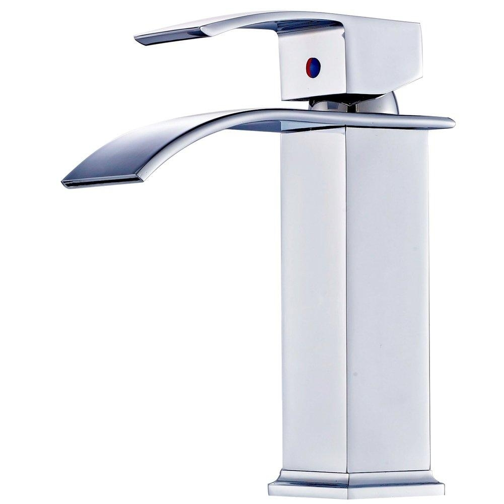 Ideas, brass tapshot and cold tapwash basin taps wide mouth waterfall within dimensions 1001 x 1001  .