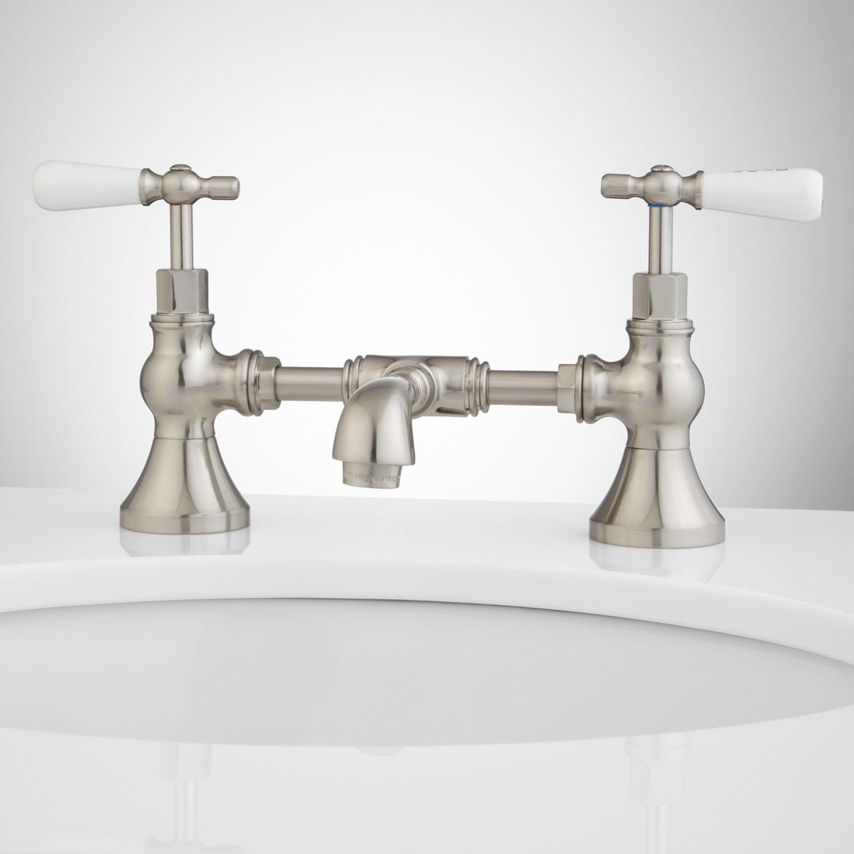 bridge bathroom faucets bridge sink faucets signature hardware inside size 1500 x 1500