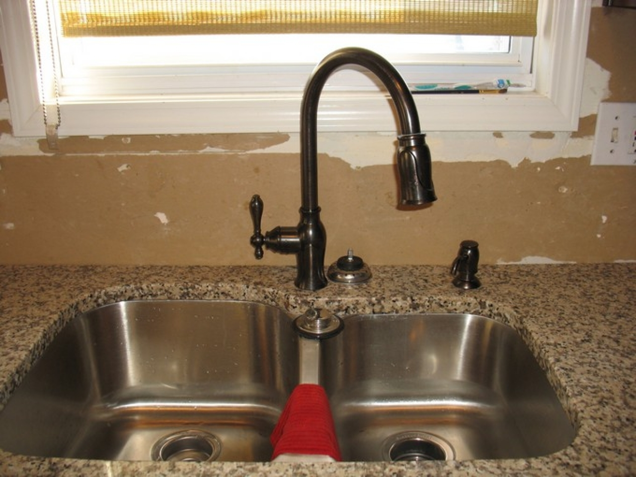 bronze kitchen sink faucets stainless steel farmhouse sink with regard to proportions 1280 x 960