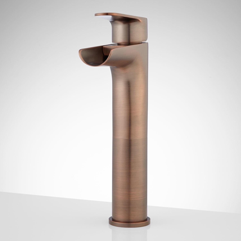 Ideas, bronze waterfall faucet for vessel sink bronze waterfall faucet for vessel sink pagosa waterfall vessel faucet bathroom 1500 x 1500 2  .