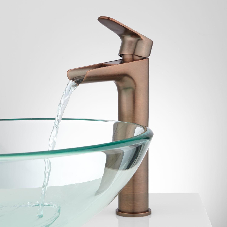 bronze waterfall faucet for vessel sink bronze waterfall faucet for vessel sink pagosa waterfall vessel faucet bathroom 1500 x 1500