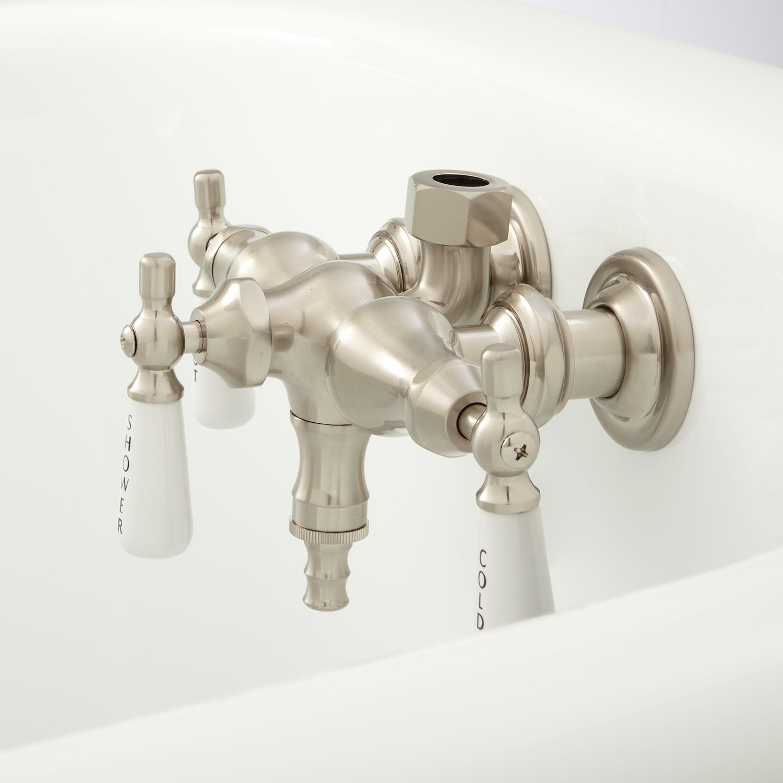 Ideas, clawfoot tub faucet with shower diverter clawfoot tub faucet with shower diverter clawfoot tub diverter valve bathroom 1500 x 1500 1  .