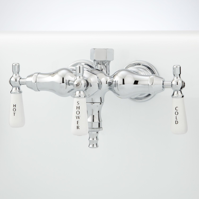 Ideas, clawfoot tub faucet with shower diverter clawfoot tub faucet with shower diverter clawfoot tub diverter valve bathroom 1500 x 1500 2  .