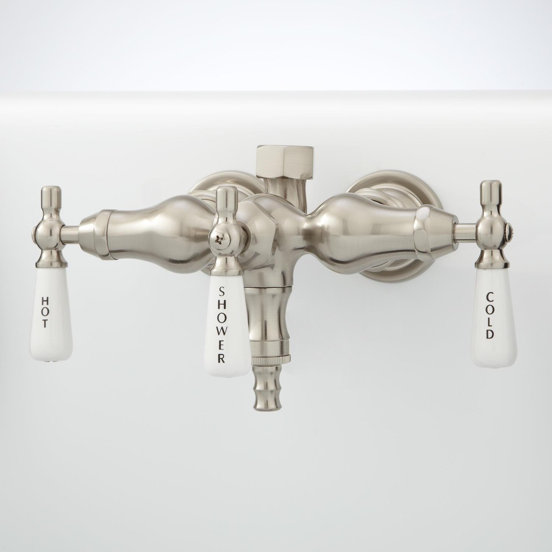 Ideas, clawfoot tub faucet with shower diverter clawfoot tub faucet with shower diverter clawfoot tub diverter valve bathroom 1500 x 1500  .