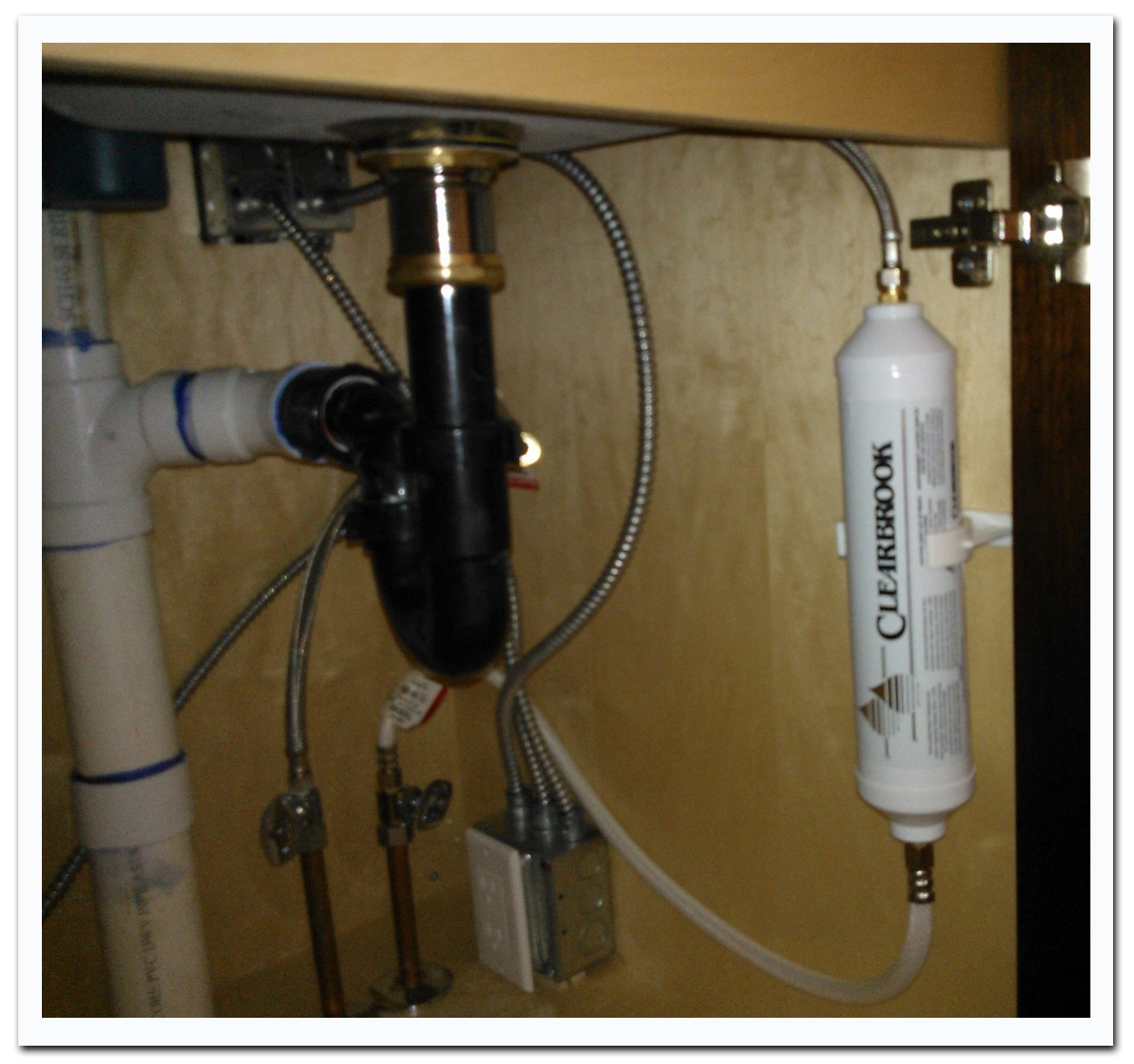 Ideas, clearbrook 5k under counter bathroom sink water filter throughout size 1300 x 1220  .