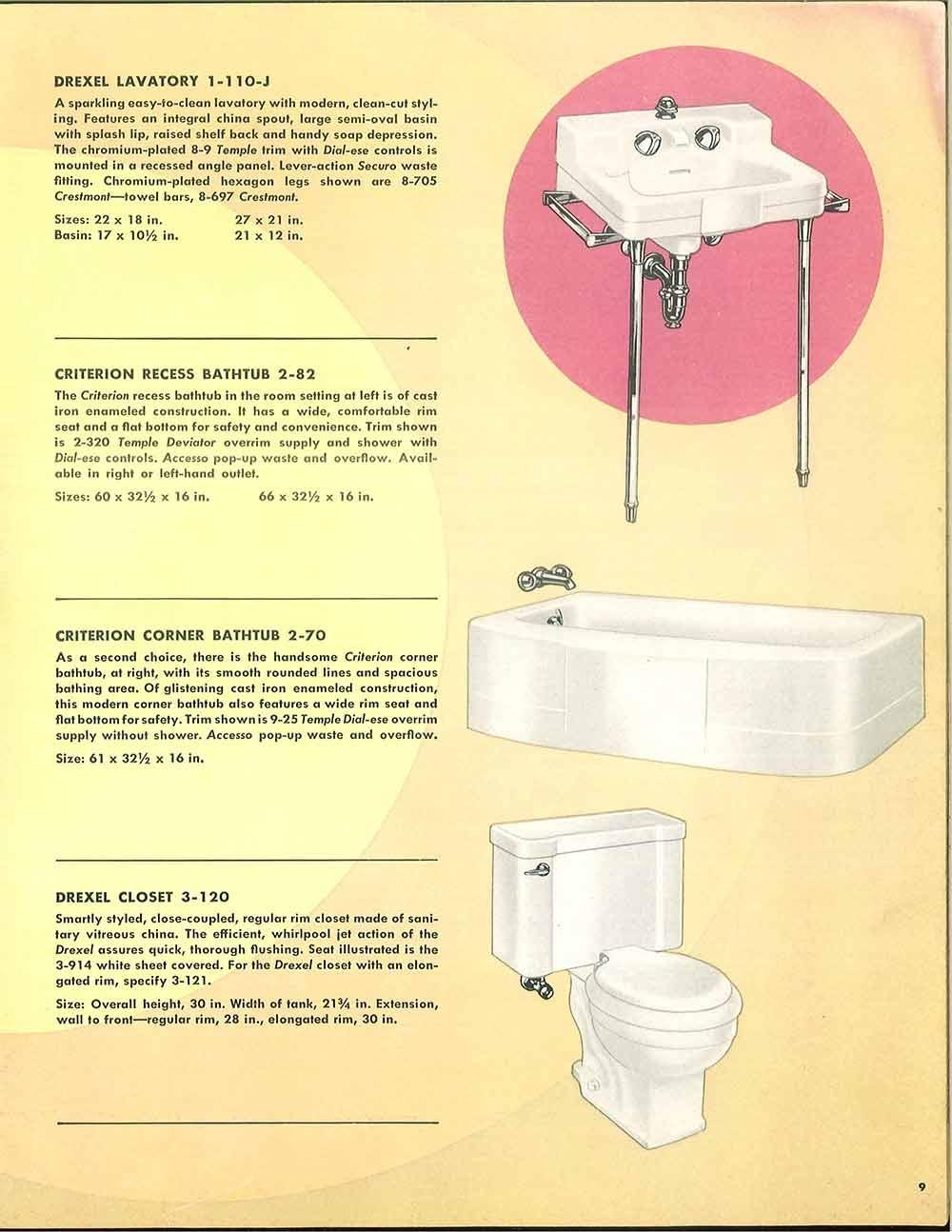 crane drexel faucet handles crane drexel faucet handles 24 pages of vintage bathroom design ideas from crane 1949 1000 x 1294