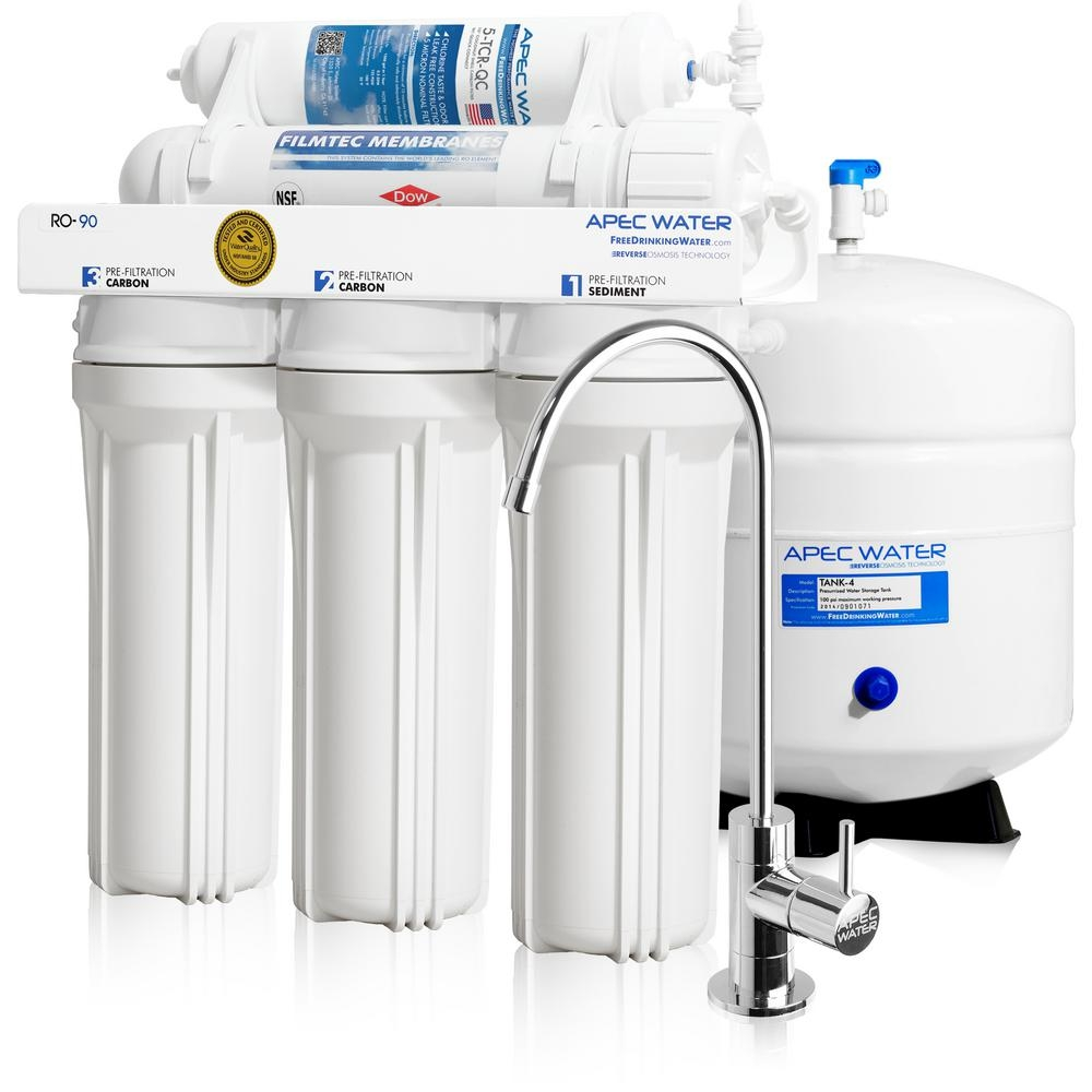 Ideas, crystal clear supply water filter reverse osmosis faucet brushed nickel crystal clear supply water filter reverse osmosis faucet brushed nickel ispring wqa gold seal 6 stage with alkaline re m filter  .