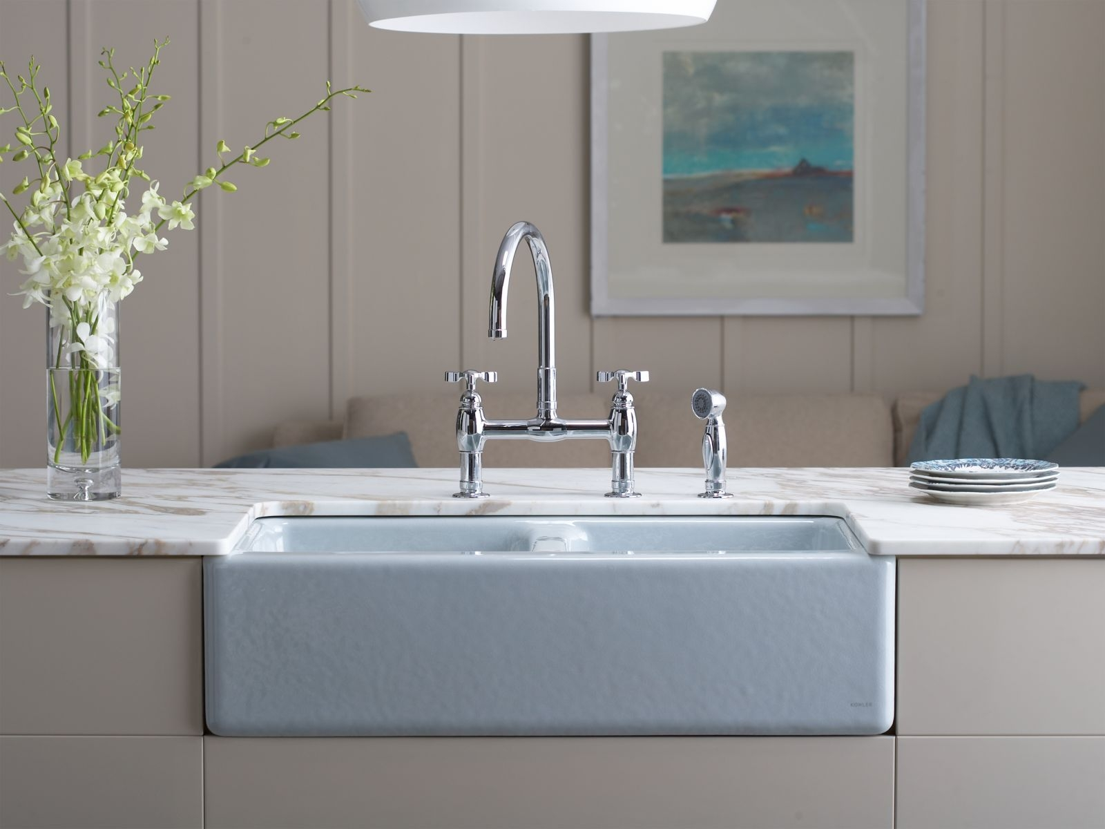 Ideas, decor elegant design of top mount farmhouse sink for modern with dimensions 1600 x 1200  .