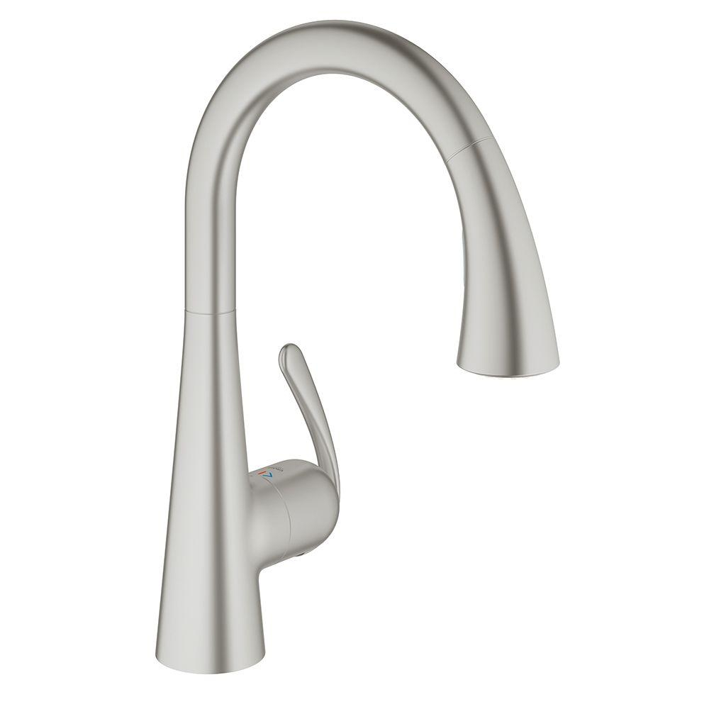 Ideas, decor fabulous grohe faucets for contemporary kitchen decoration intended for dimensions 1000 x 1000  .