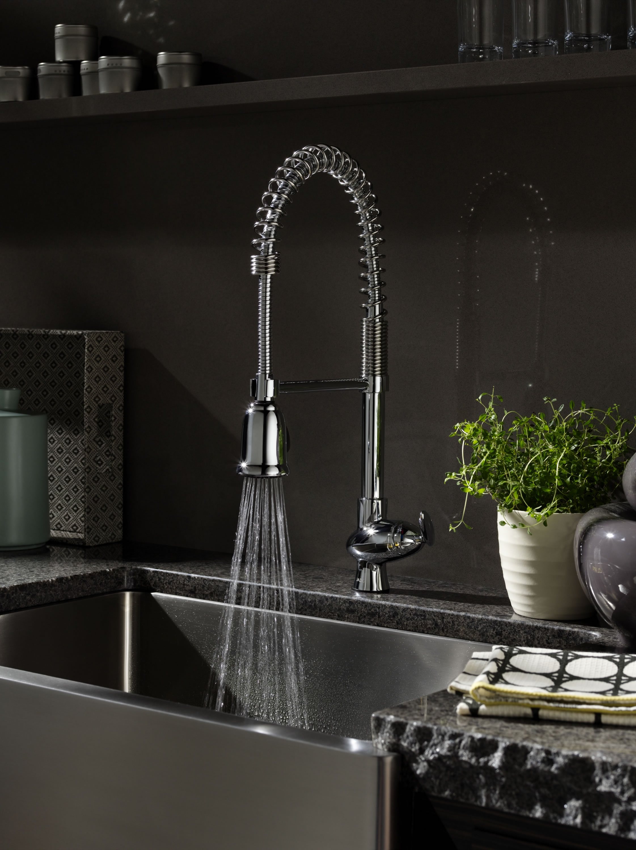Restaurant Style Kitchen Sink Faucet